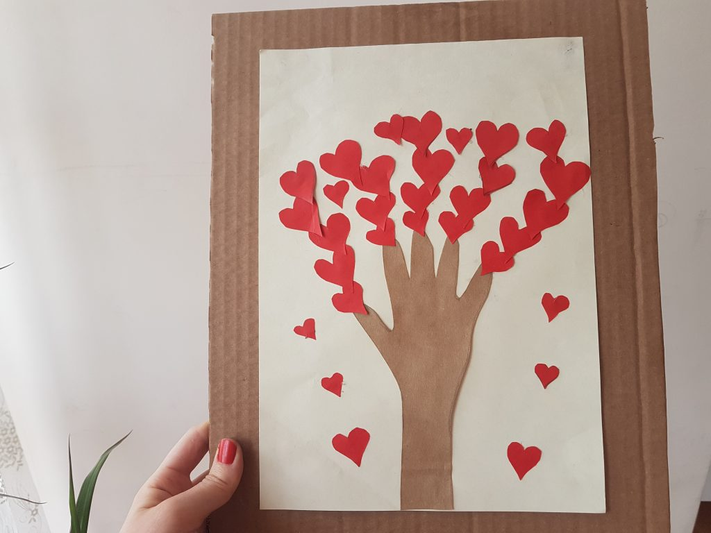 kalp ağaç