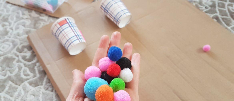 ponpon toplarla etkinlik