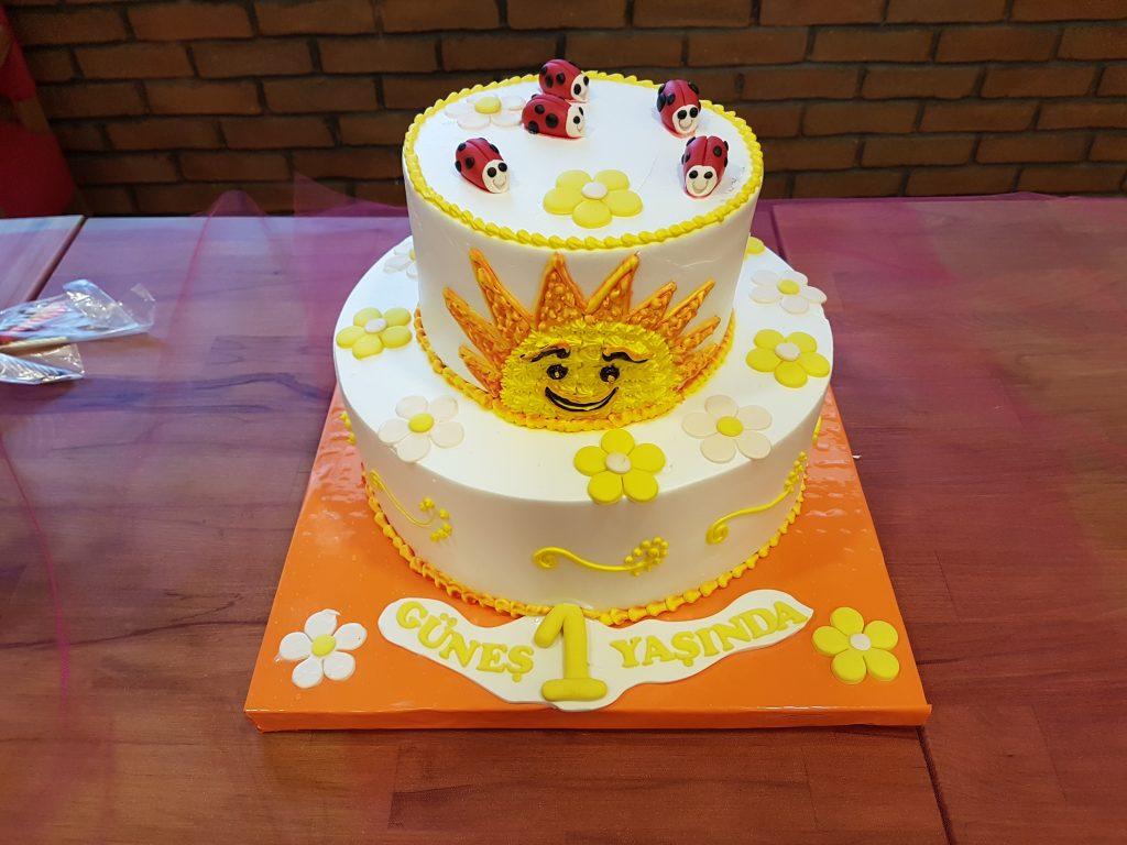 güneş yaş pasta