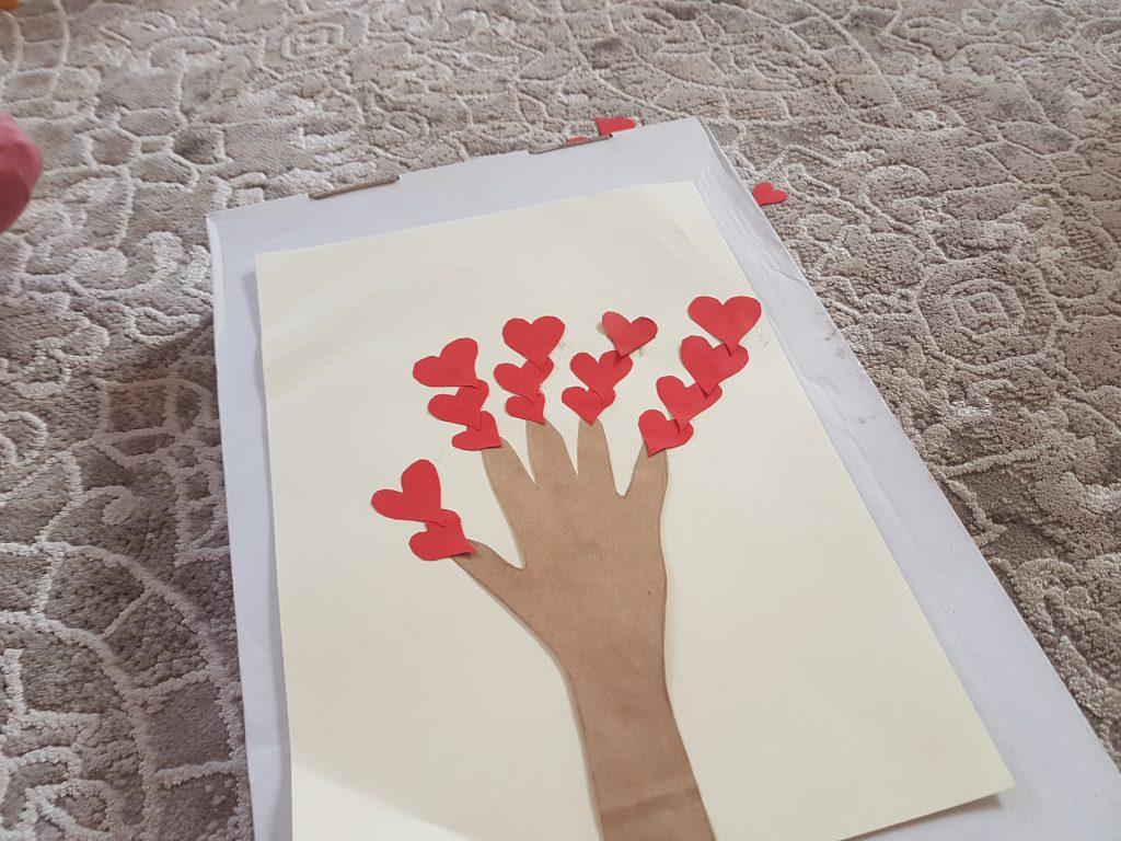 kalplerden ağaç