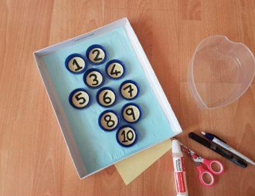kapaklarla sayı oyunu