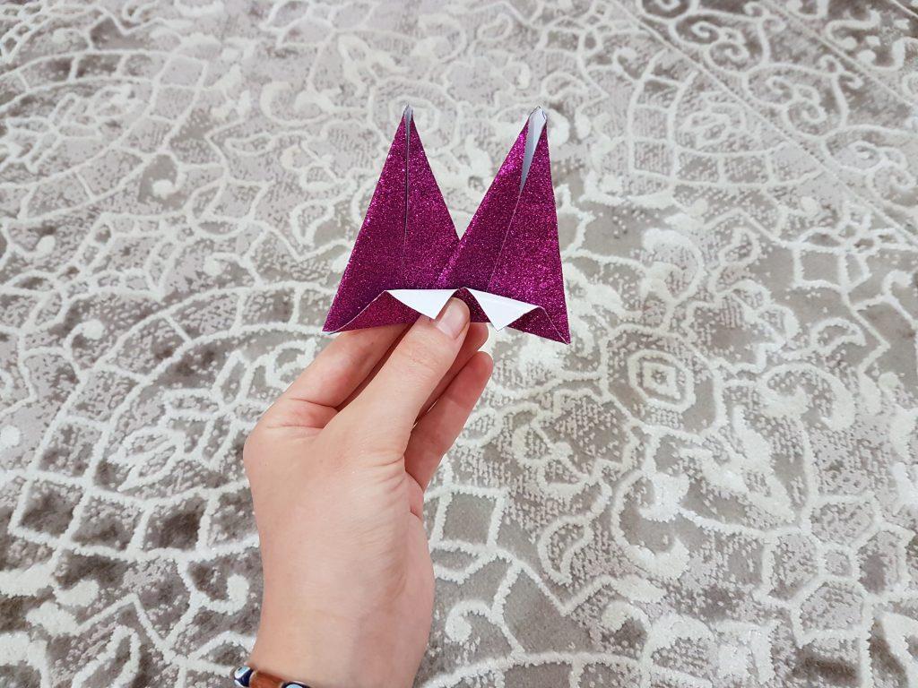 üçgenlerden taç