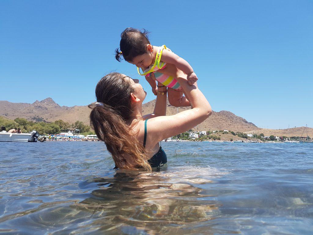 güneş bebekle tatil